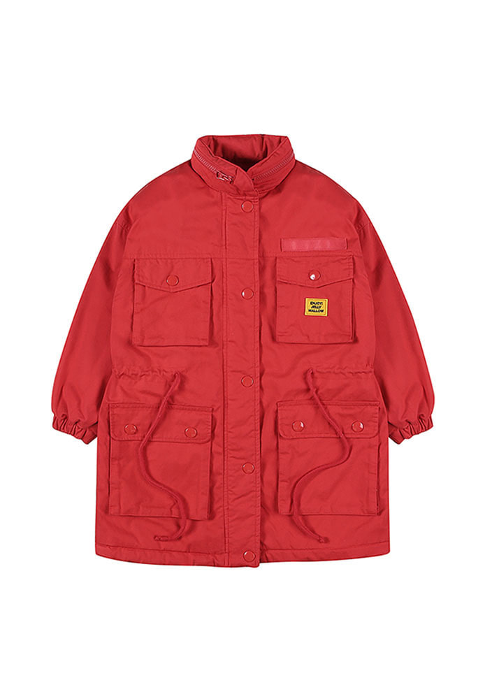 OVERSIZED  PARKA_Red