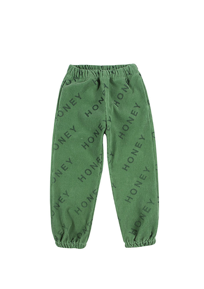 HONEY CORDUROY LOUNGE PANTS_Kids