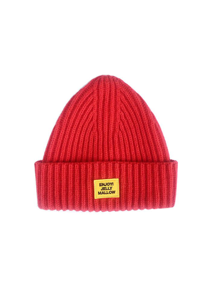 PATCH BEANIE_Red