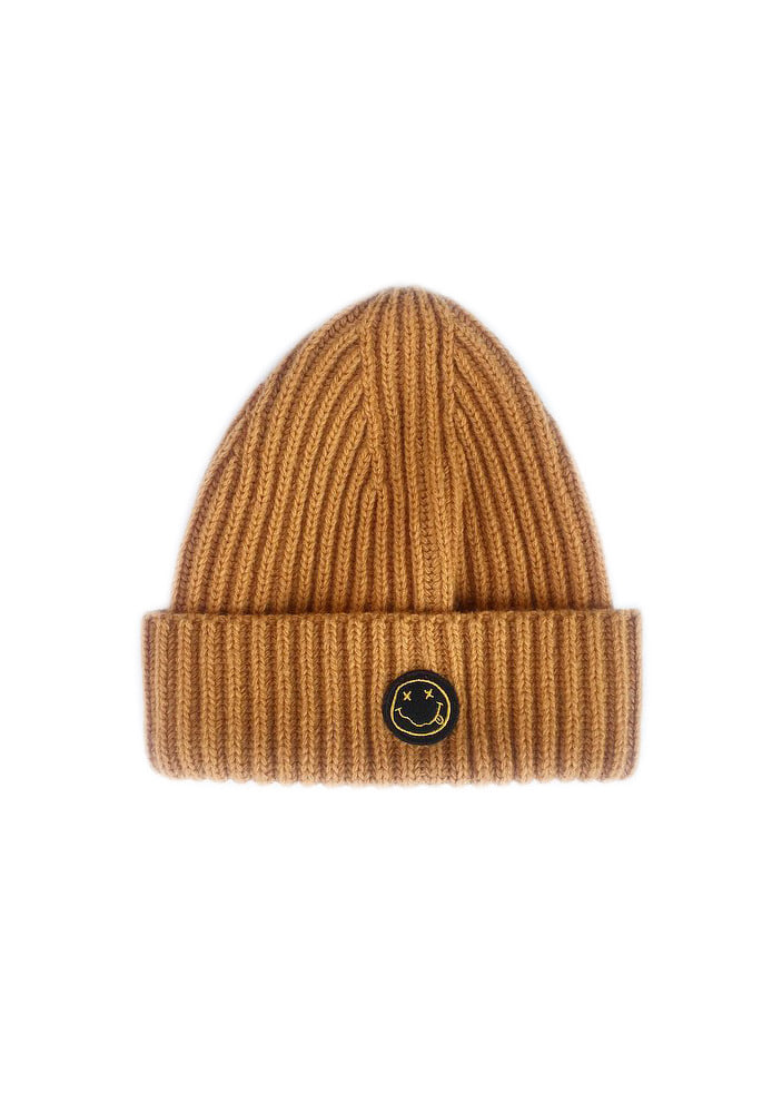 PATCH BEANIE_Brown