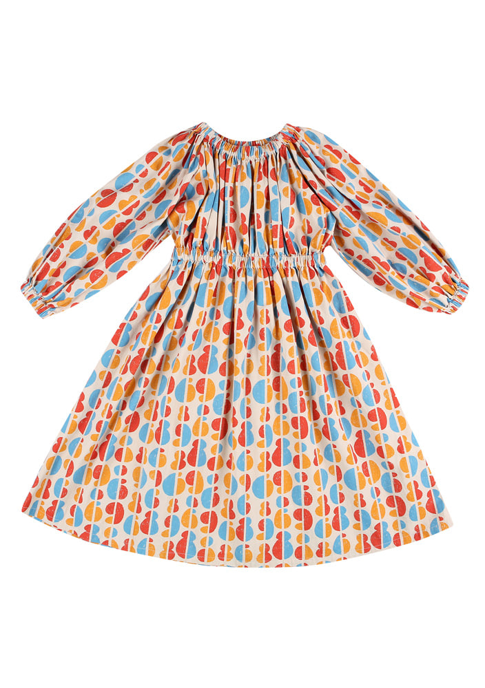 Rainbow princess Dress_Baby_Beige