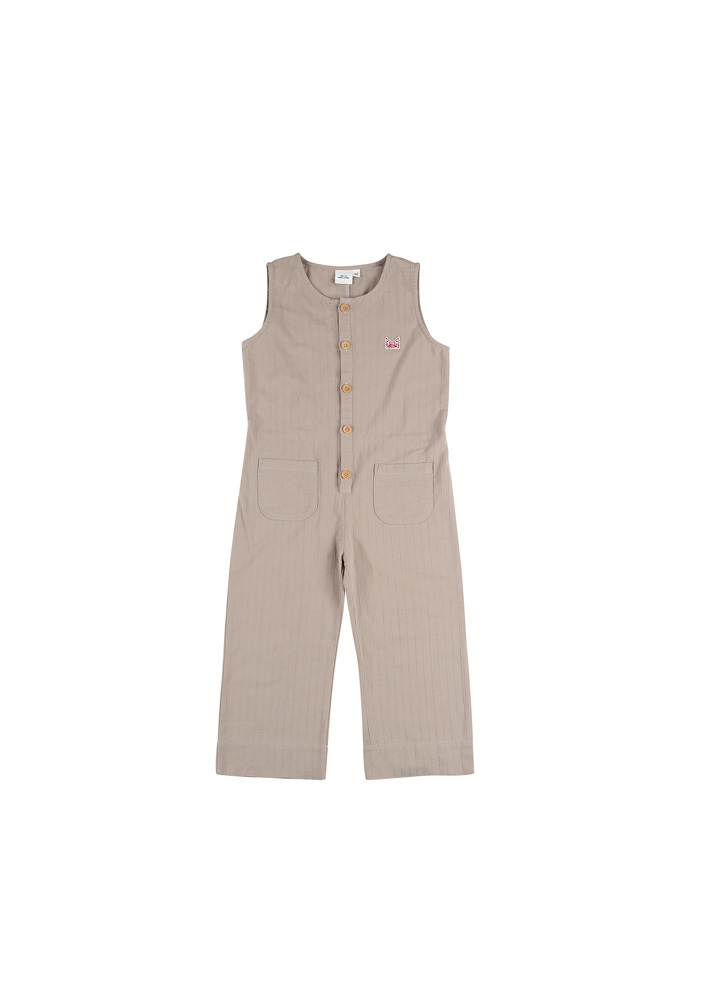 Sleeveless Jumpsuit_Baby_Beige