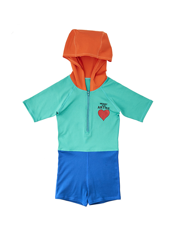 ARTIST HEART SWIM OVERALL_Kids