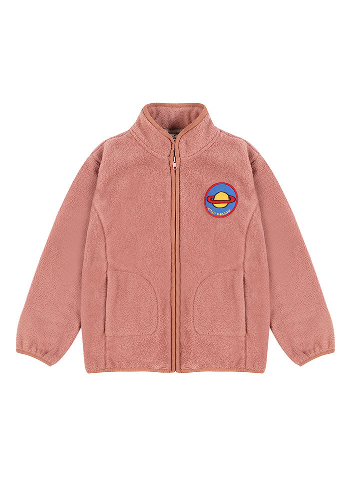SATURN PATCH FLEECE_Pink