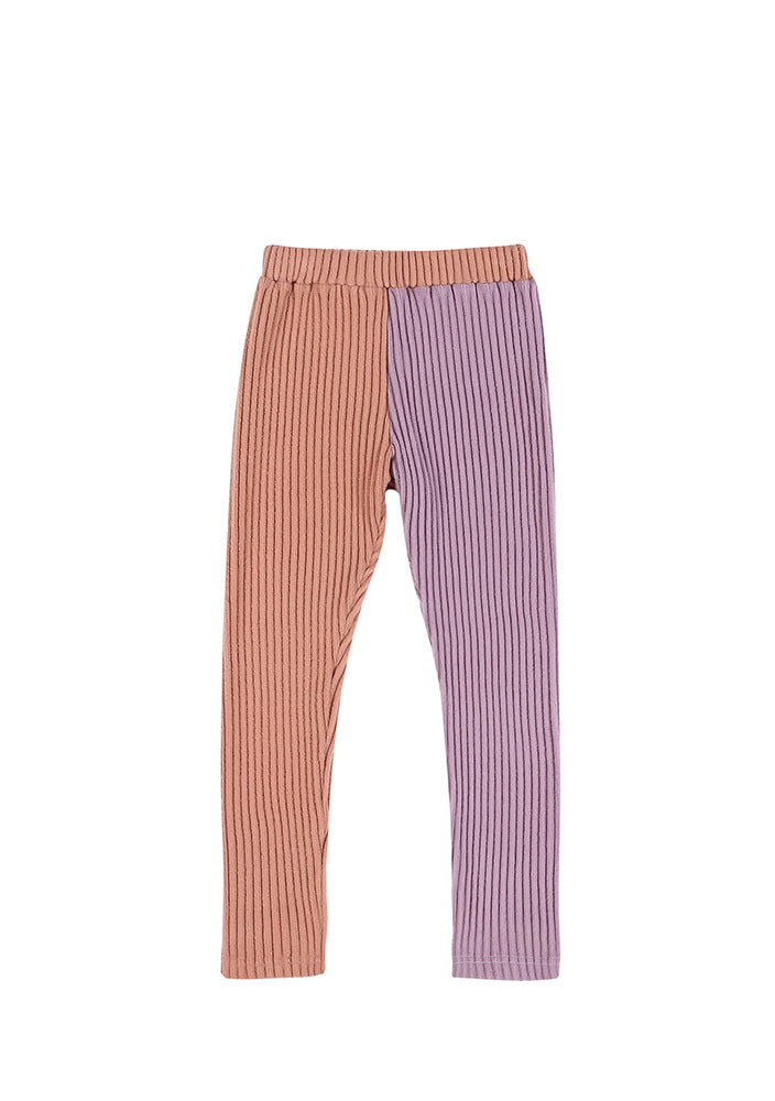 CORDUROY LEGGINGS_Kids_Pink & Purple