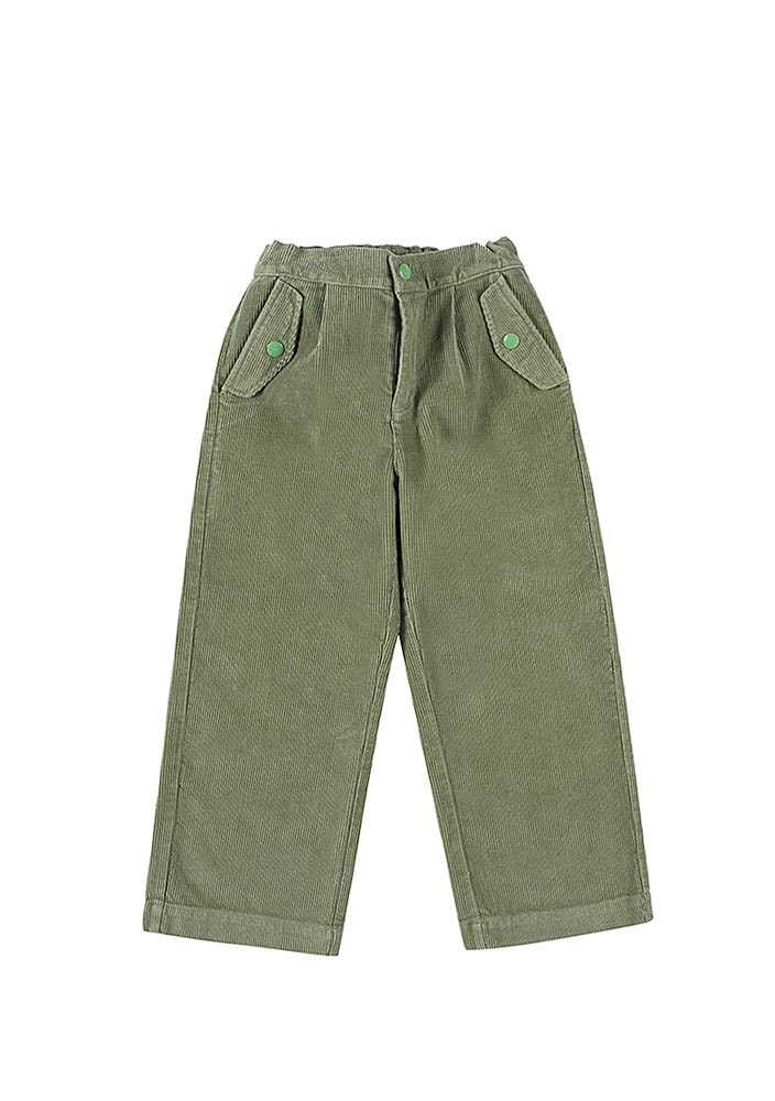 CORDUROY PANTS_Green