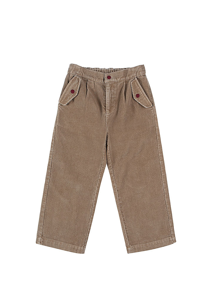 CORDUROY PANTS_Brown