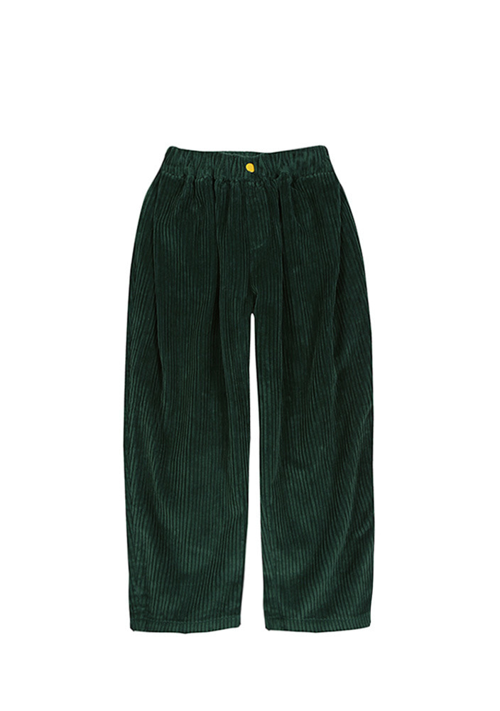 BALLOON CORDUROY PANTS_Green