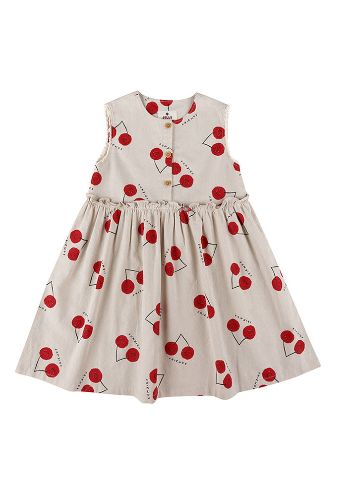 CHERRY FRIENDS DRESS_Kids