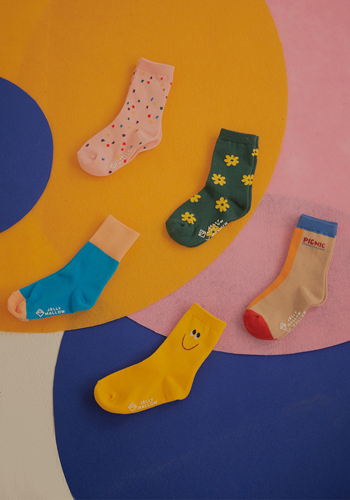 JM SOCKS SET#2_5PS