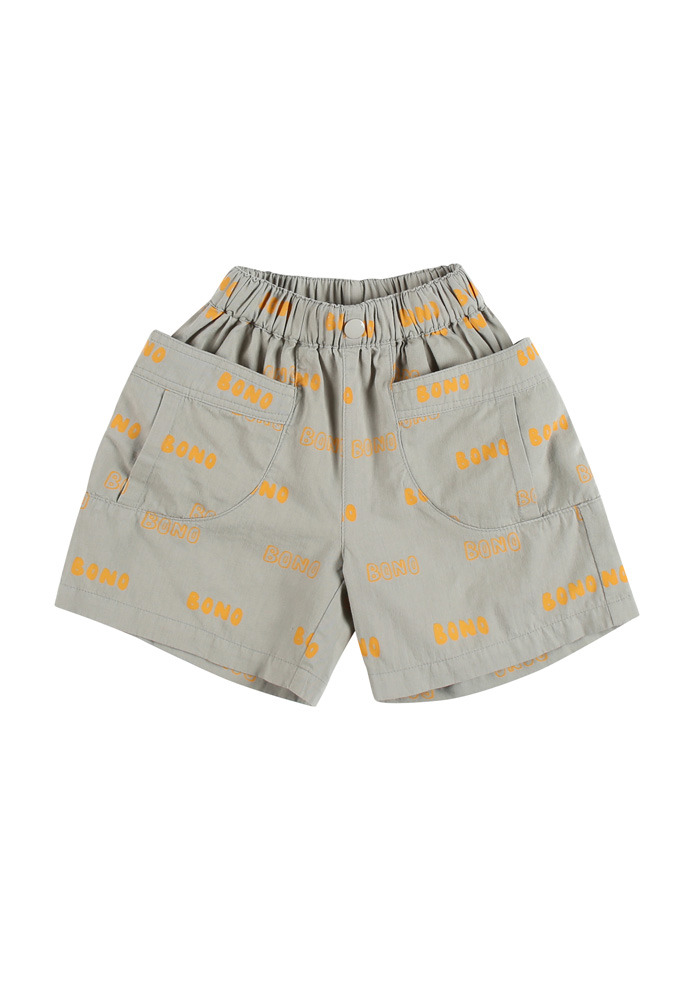 BONO CARGO SHORTS_Grey_Kids#2
